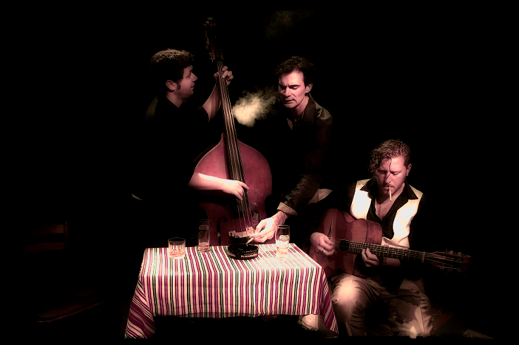 gypsy swing savignoni trio jazz manouche